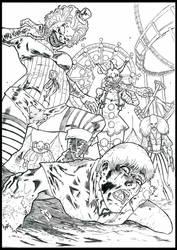 Horror of female clowns! by hakanlogan