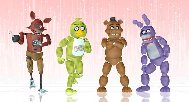 Welcome Five Nights At MMD!