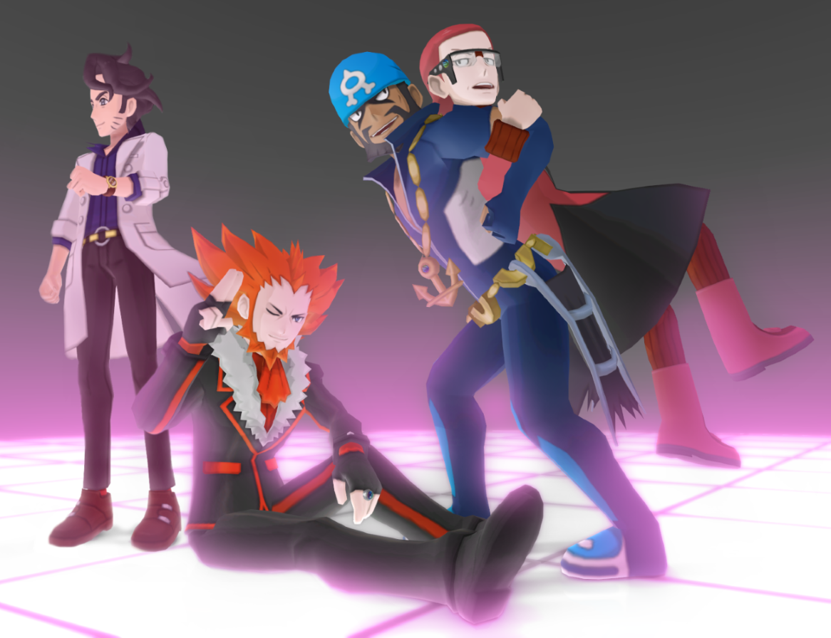 MMD Pokemon Men DL Off by Jakkaeront on DeviantArt