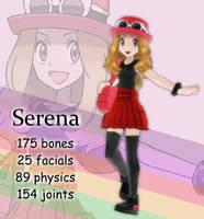 MMD Serena DL Off by Jakkaeront