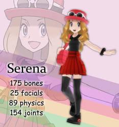 MMD Serena DL Off