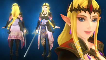 Zelda - Hyrule Warriors (MMD Render Test)