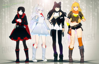 RWBY MMD (Close to accurate)