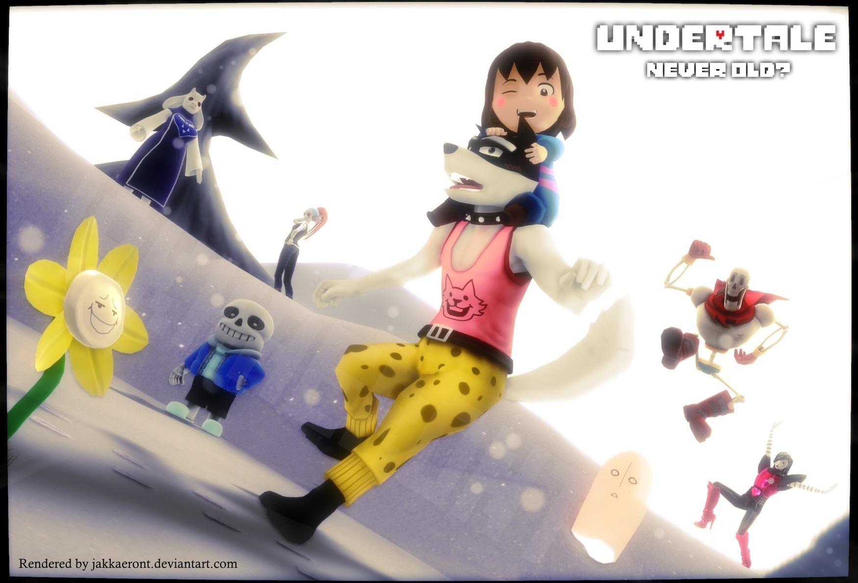 Undertale Never Old? by Jakkaeront