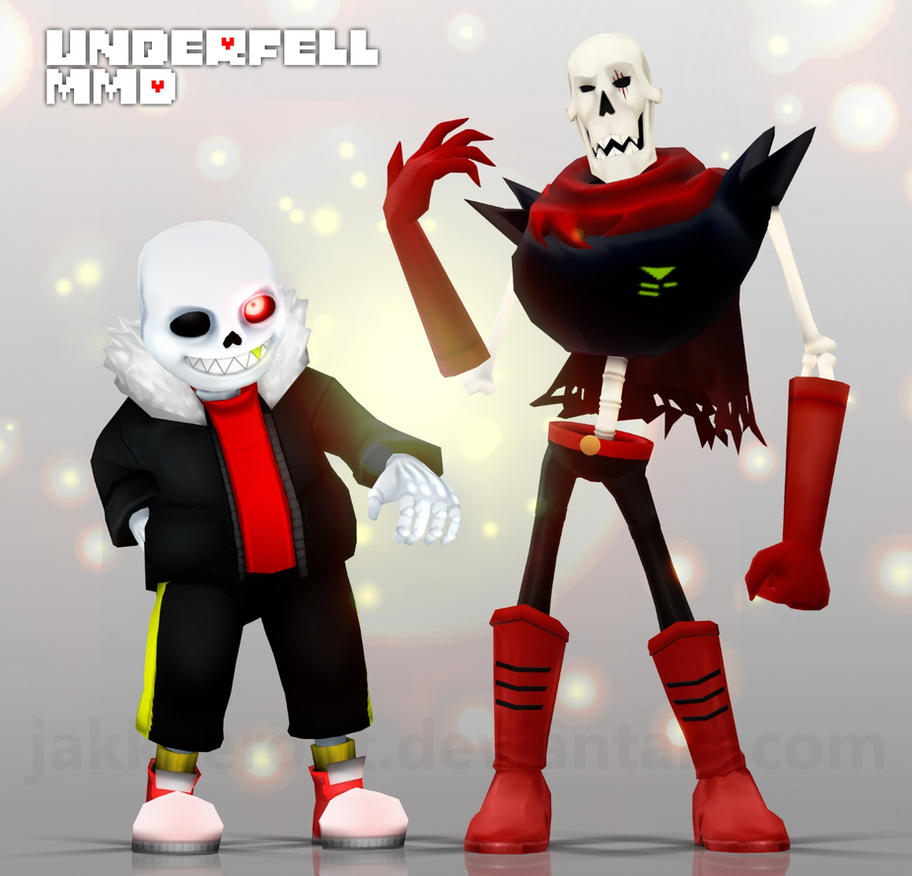 Anime Characters For Gmod : Undertale au underfell mmd sans n papyrus by