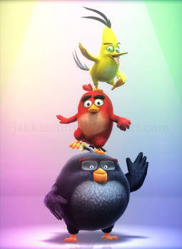 MMD Angry Birds 2016