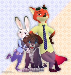Zootopia for KH 3 (My Prediction) by Jakkaeront