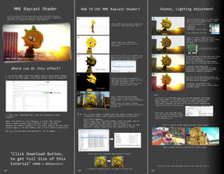 (Outdated) MME Tutorial - Raycast Shader Effect by Jakkaeront