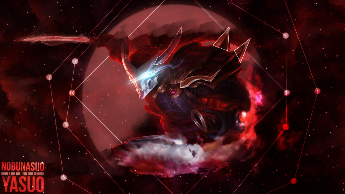Blood Moon Yasuo Wallpaper by Nobunasuo on DeviantArt