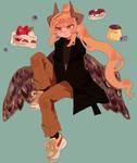 Commission - Happy birthday Hhori