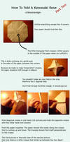 Rose Origami Tutorial Pt. 2