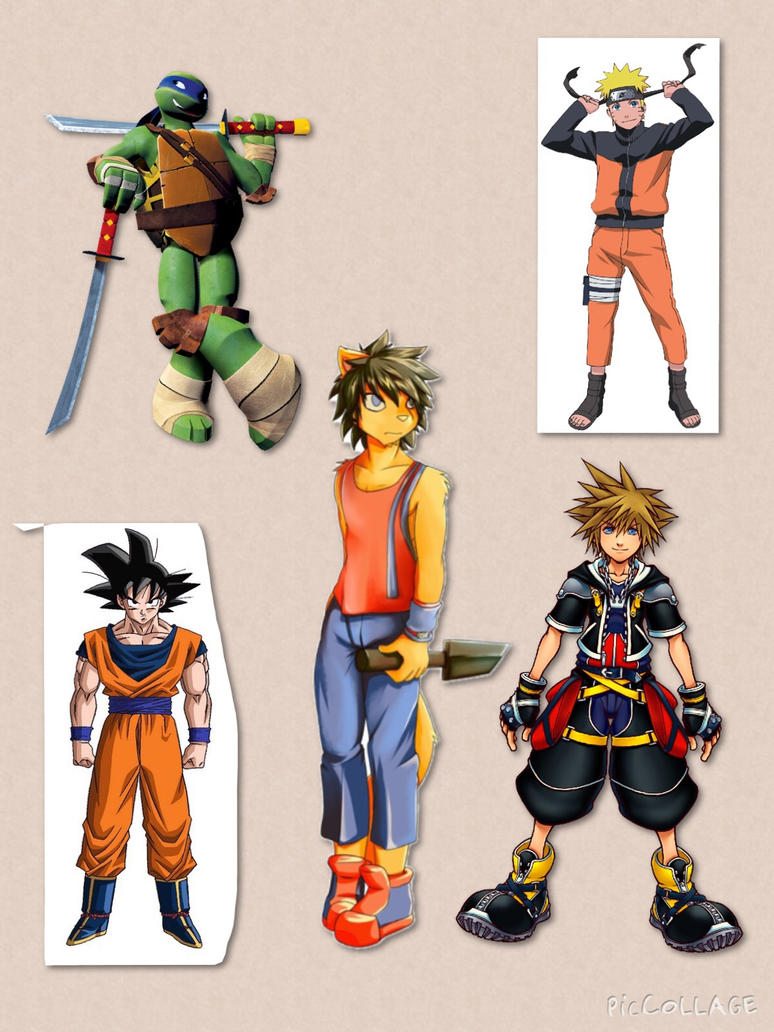 Character Inspiration final part : Hiro by kdrj4402