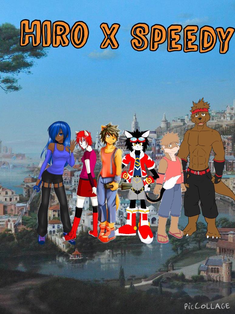 Hiro X Speedy cover promo by kdrj4402