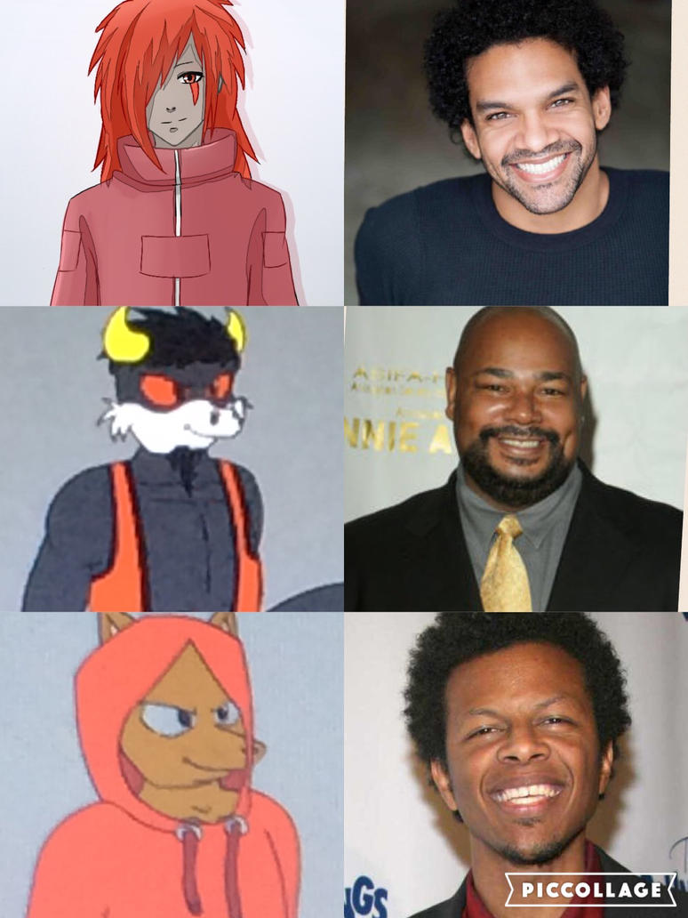 Character voices part 6 by kdrj4402