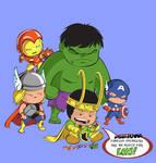 Avengers Shirt -- Loki's Playthings