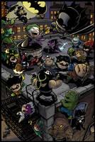 Li'l Gotham by Truxillogical