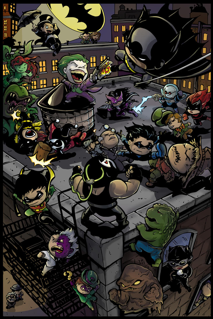 Li'l Gotham by Truxillogical