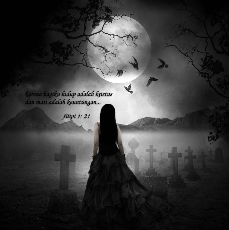 dark alone by MennaKezia
