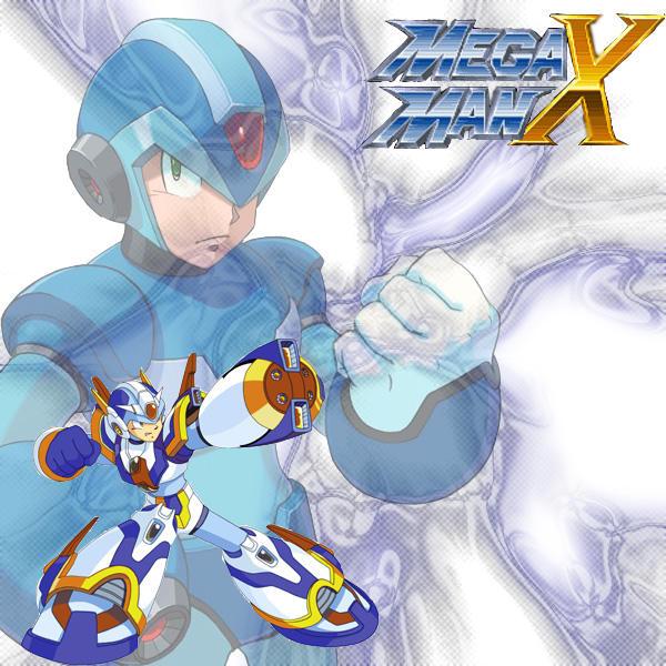 Mega Man X style by Shaqiswack86