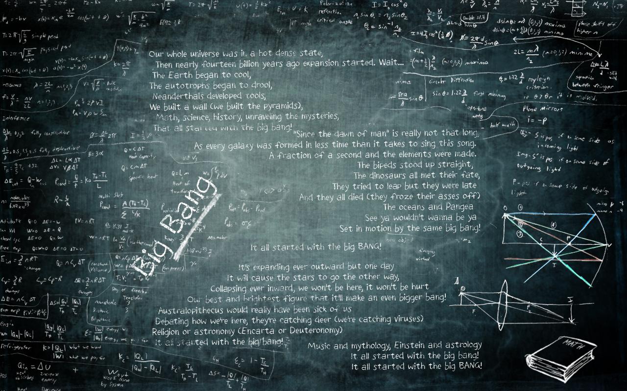 The Big Bang Wallpaper by EliChanNeko on DeviantArt