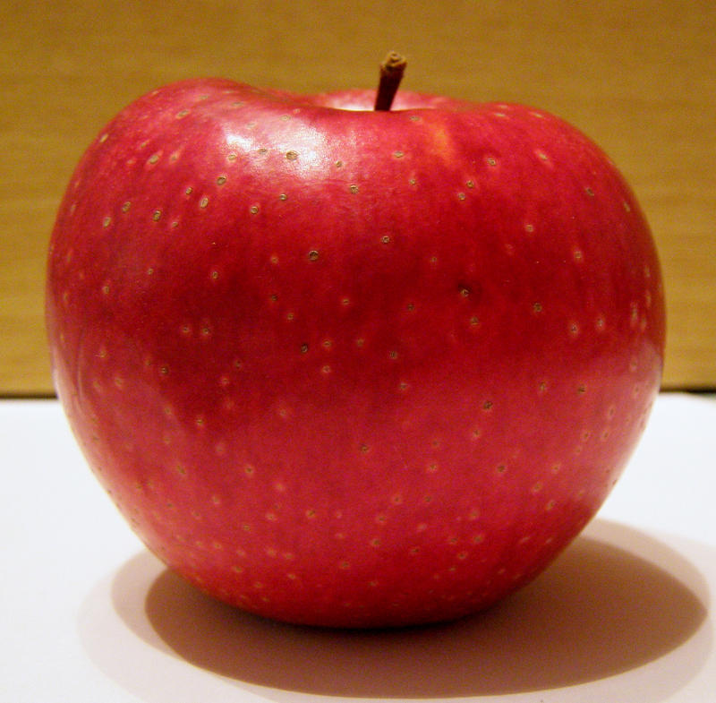 Red apple stock 2 by AnnFrost-stock