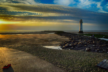 New Brighton Lighthouse 4 by Lashington