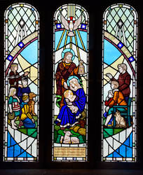 Holy Cross Church window by Lashington