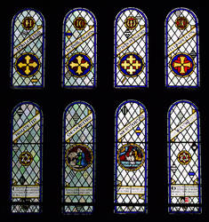 Holy Cross Church window 2 by Lashington
