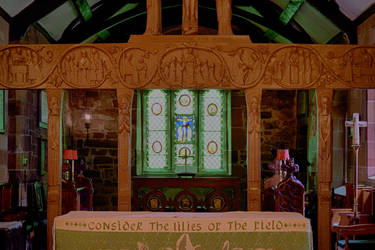 Holy Cross Church Alter by Lashington