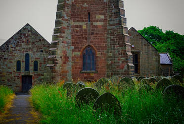Holy Cross Church 3 by Lashington