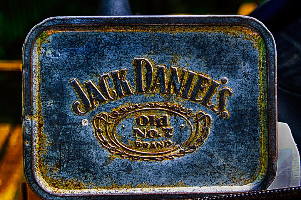 My old tobacco tin by Lashington
