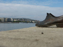 Shoes on the Danube Promenade II by setanta5