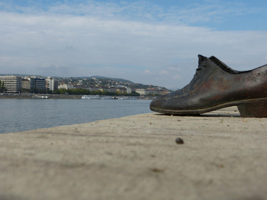 Shoes on the Danube Promenade II by setanta5