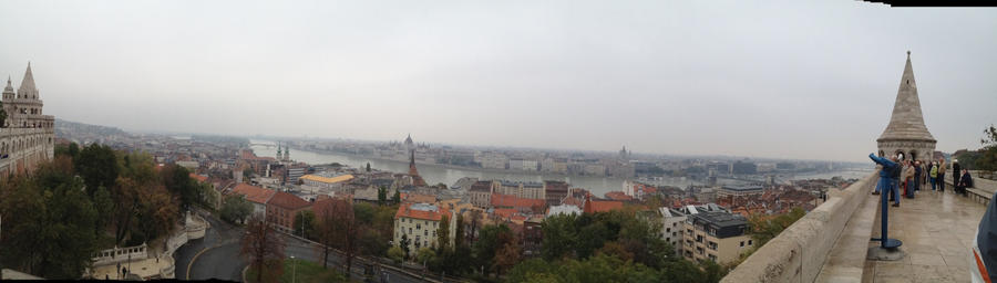 Panorama over Budapest by setanta5