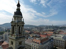 View from St. Stephen's Basilica bell-tower II by setanta5