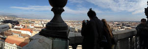 Panorama over Budapest from St. Stephen's by setanta5