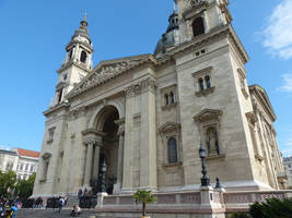 St. Stephen's Basilica, outside