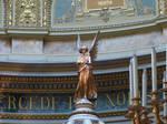 Statue inside St. Stephen's Basilica