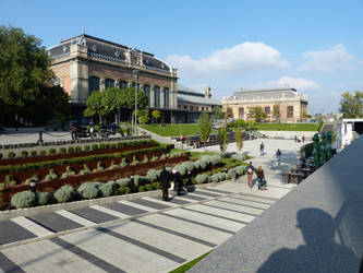 Green area beside West Railway Station I