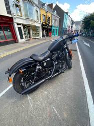 Harley Davidson in Ennis (1 of 2)