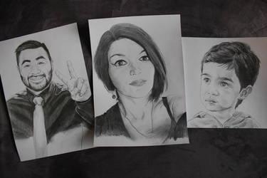 Family Portraits by Freakazoid999