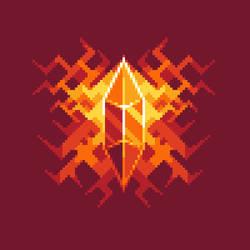 Fiery Crystal by Strunter