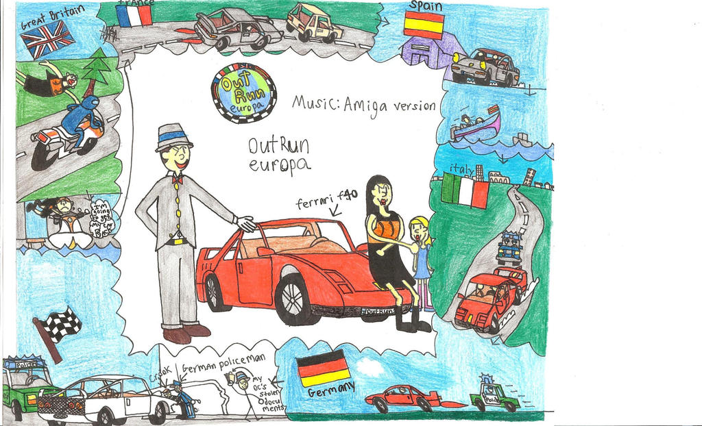 My Version Of Outrun Europa by britishman1940