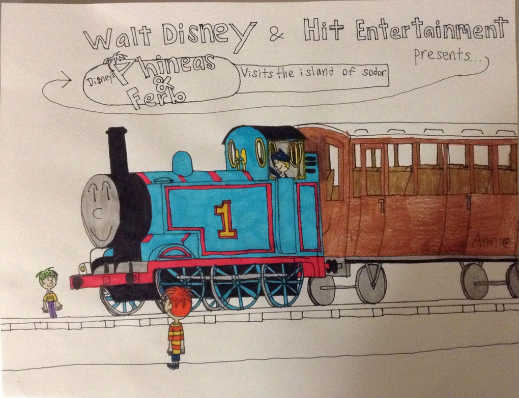Phineas and ferb visits the island of sodor. by britishman1940