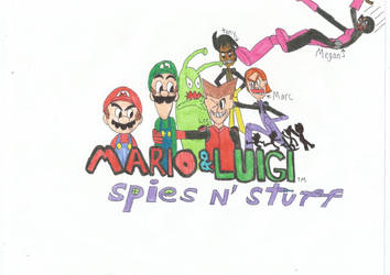 new mario and luigi title by britishman1940