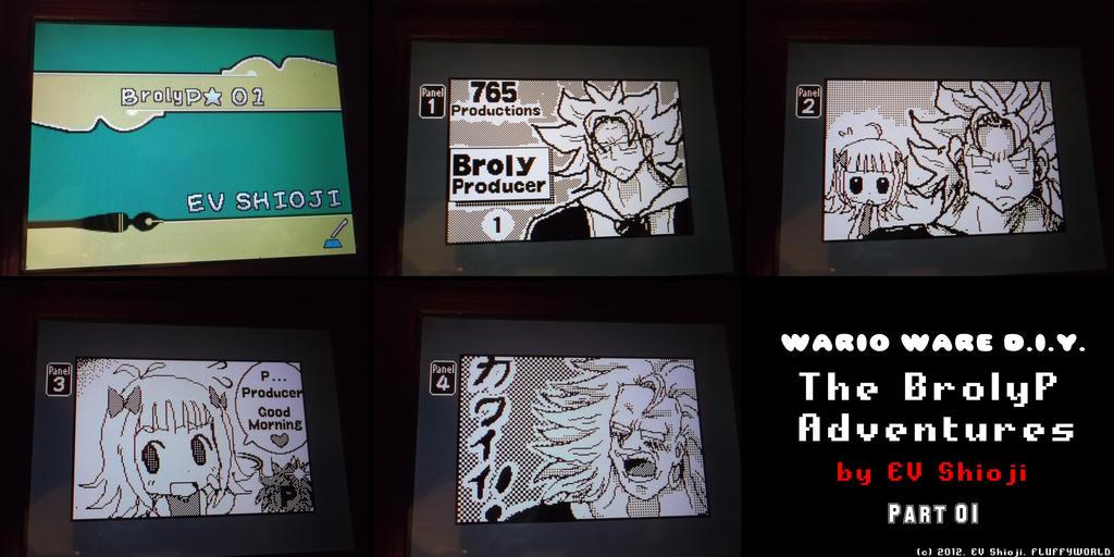 Wario Ware DIY - BrolyP Adv - 01 by EV133