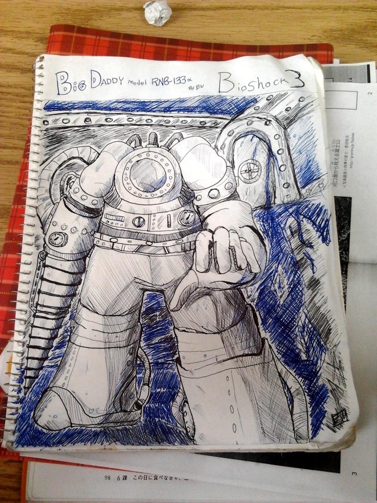 NEW Big Daddy - Bioshock by EV133