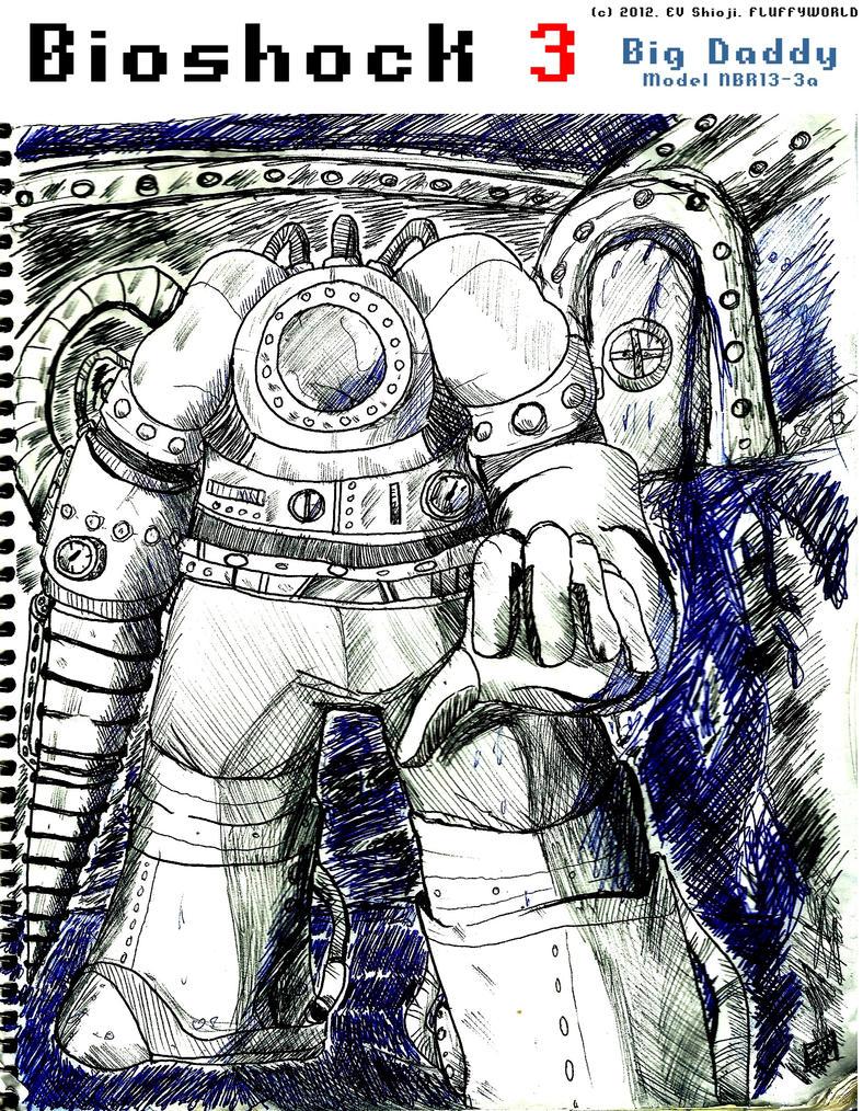 NEW Big Daddy (I) - Bioshock by EV133