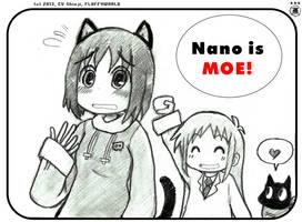 Nichijou - Nano MOE DESU by EV133
