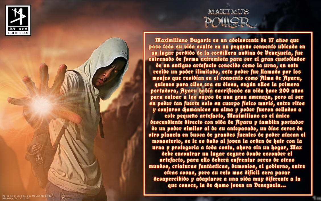Maximus Power Bio by david-madrid-duarte